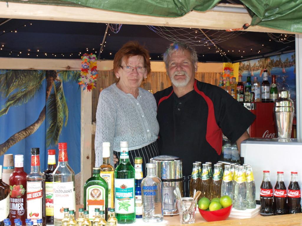 Wirtsleute Monika und Rainer